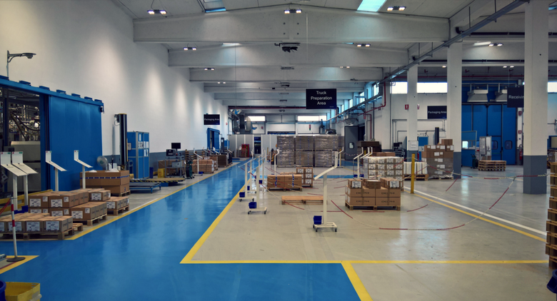 Turin Delphi plant: layout and material flow organization in a lean perspective
