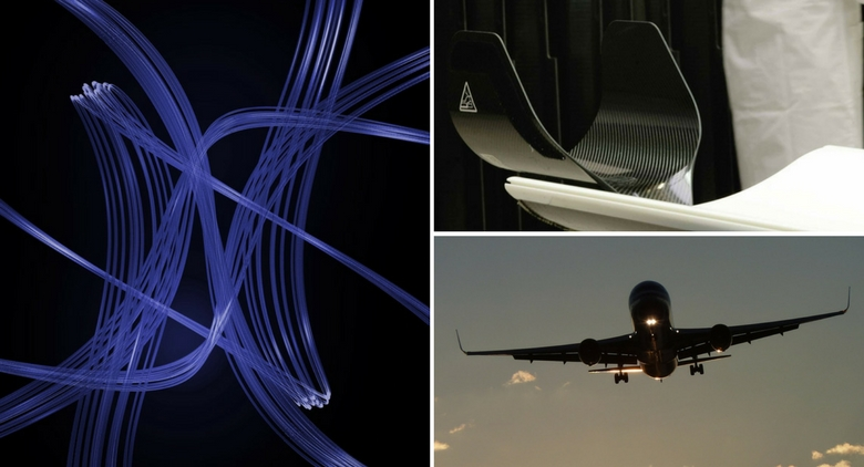 Lamiflex: Carbon fiber and some of its applications in the medical and aeronautical field